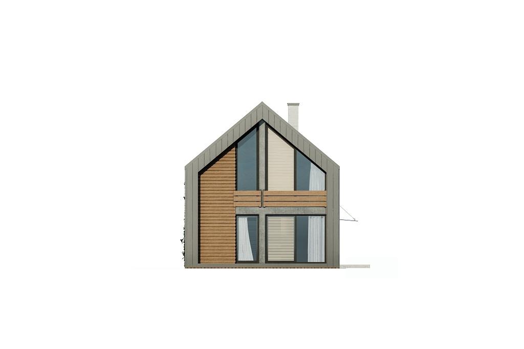 Projekt domu L-6719 - elewacja