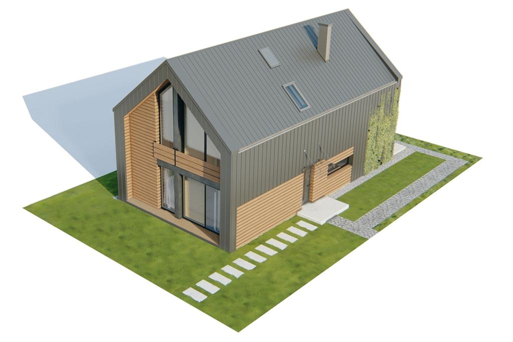 Projekt domu L-6719 - model
