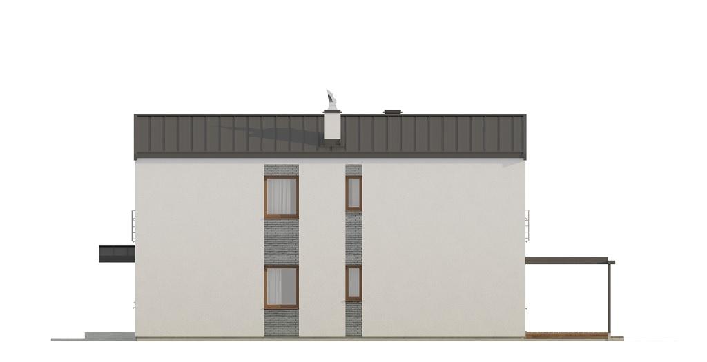 Projekt domu DM-6715 - elewacja