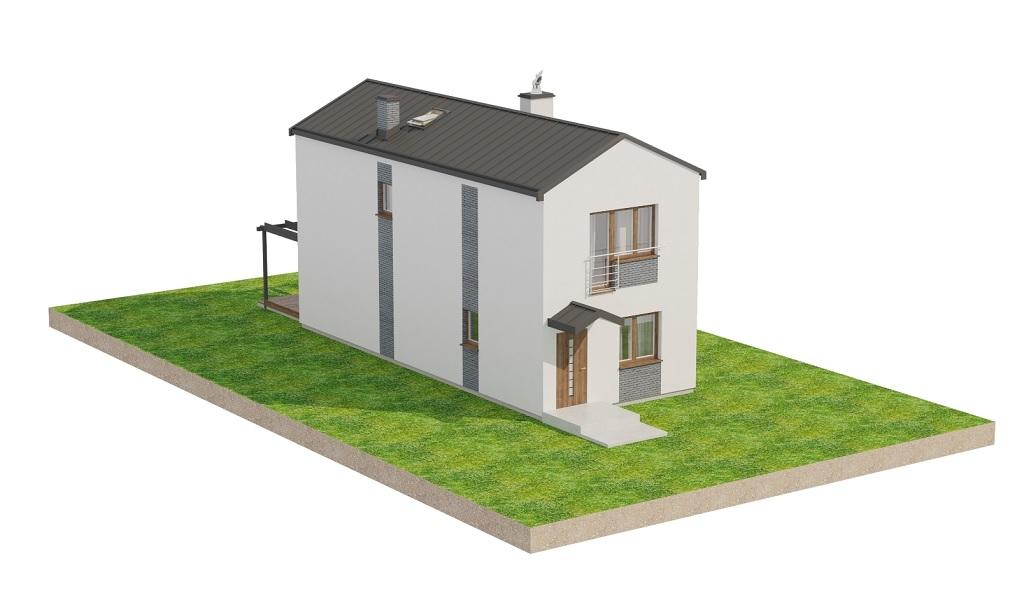 Projekt domu DM-6715 - model