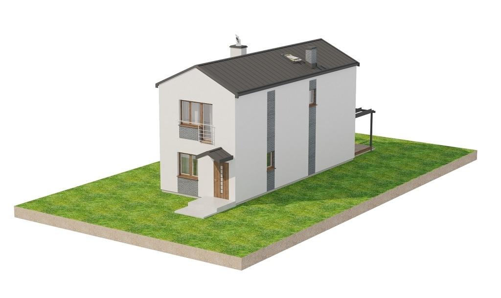Projekt domu L-6715 - model