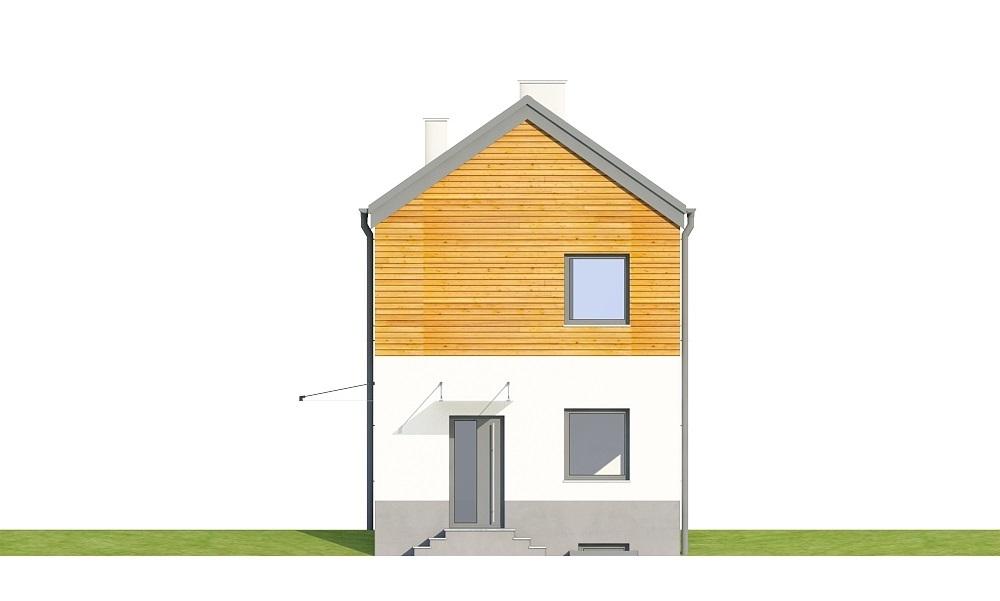 Projekt domu L-6652 - elewacja