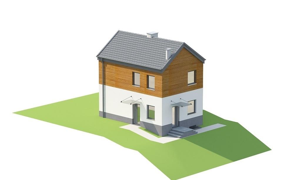 Projekt domu L-6652 - model