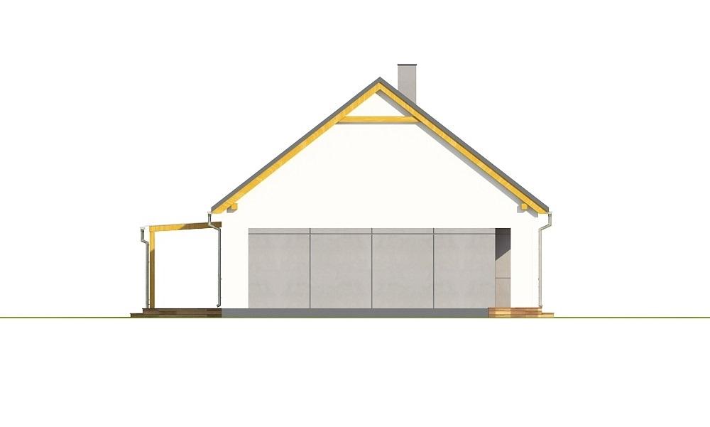 Projekt domu L-6706 - elewacja