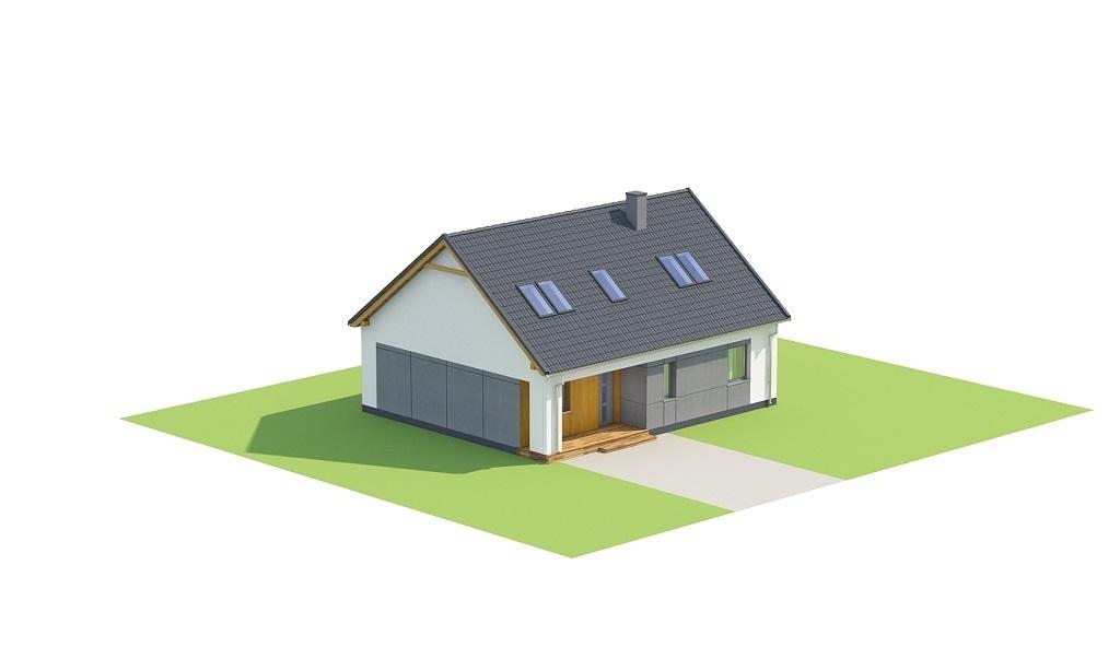 Projekt domu L-6706 - model