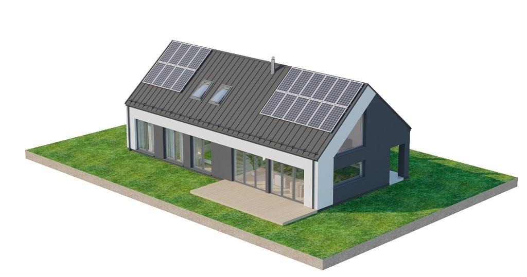 Projekt domu DM-6705 - model
