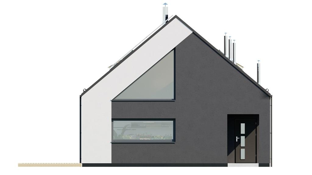 Projekt domu DM-6705 - elewacja