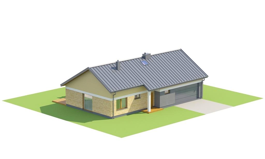 Projekt domu DM-6718 - model