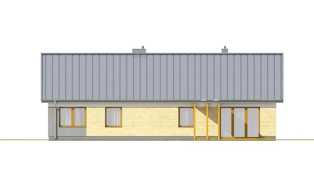 Projekt domu DM-6718 - elewacja