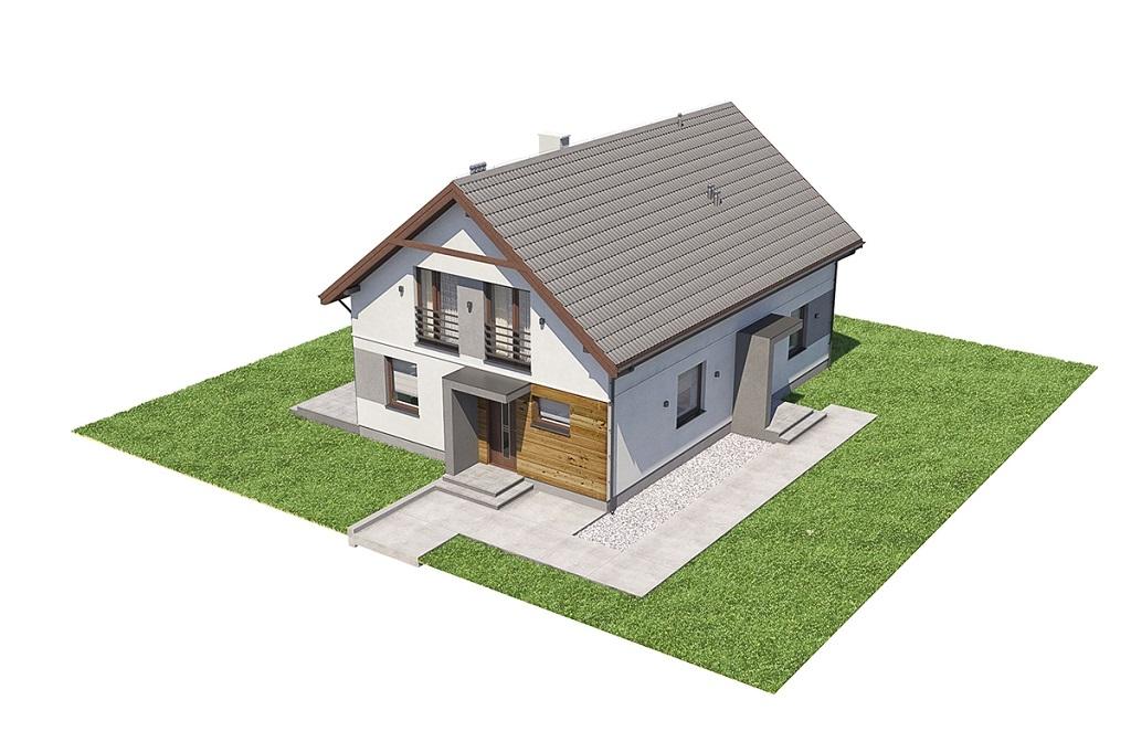 Projekt domu DM-6713 - model
