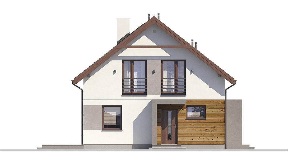 Projekt domu DM-6713 - elewacja