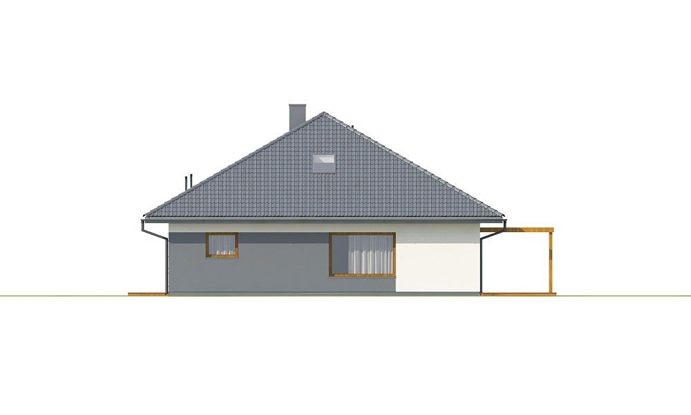 Projekt domu DM-6726 - elewacja