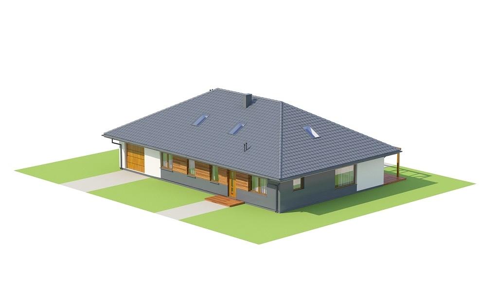 Projekt domu DM-6726 - model