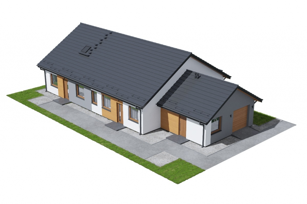 Projekt domu DM-6730 - model