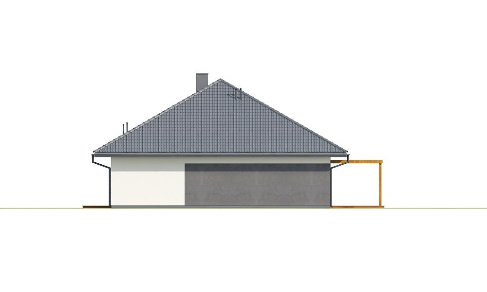 Projekt domu L-6726 - elewacja