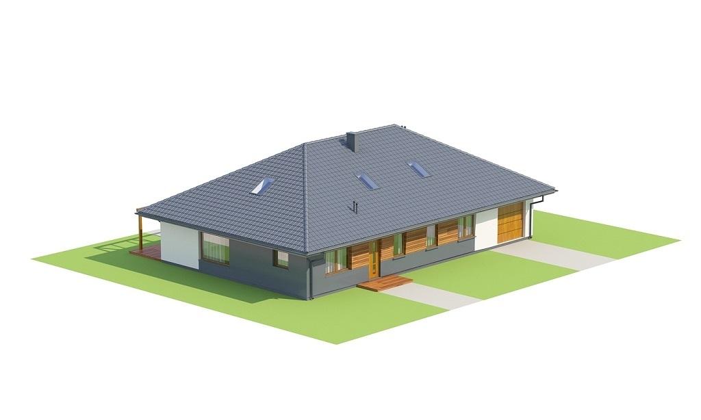 Projekt domu L-6726 - model