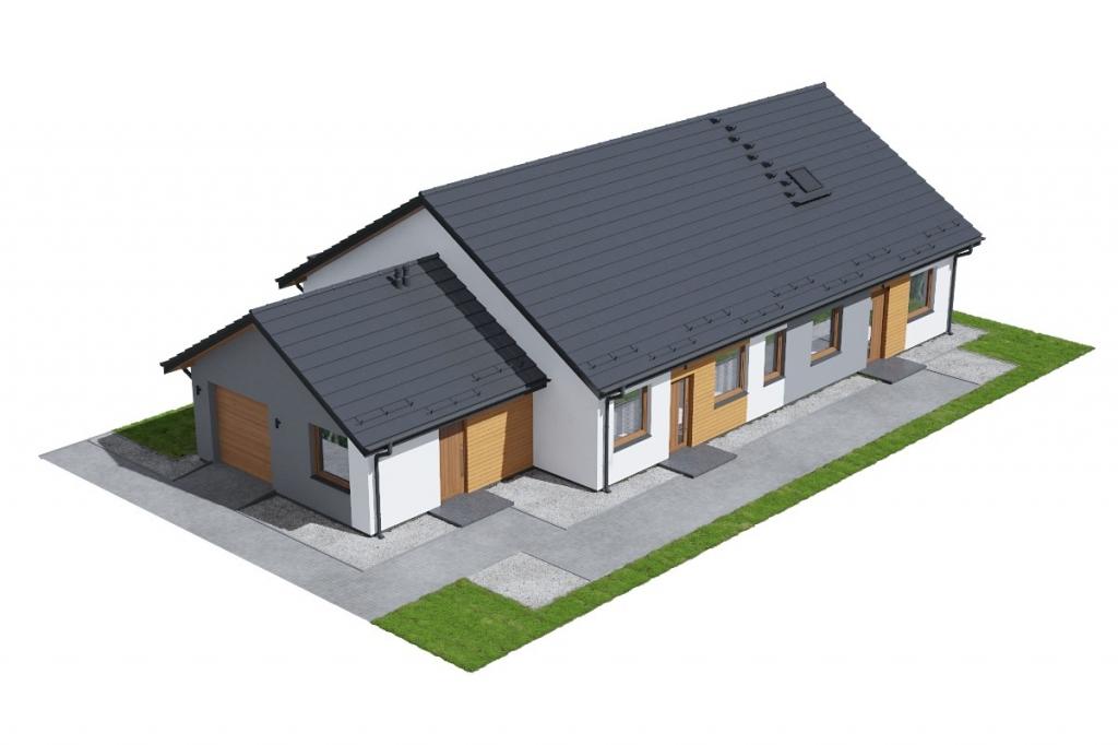 Projekt domu L-6730 - model