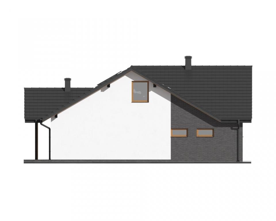 Projekt domu DM-6712 - elewacja