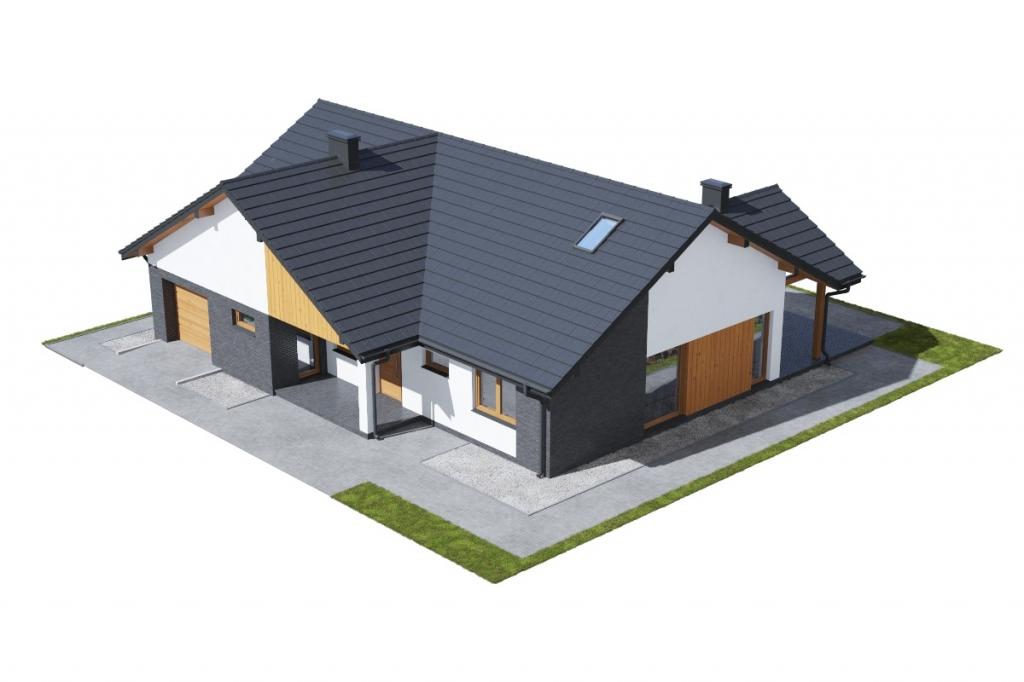 Projekt domu DM-6712 - model