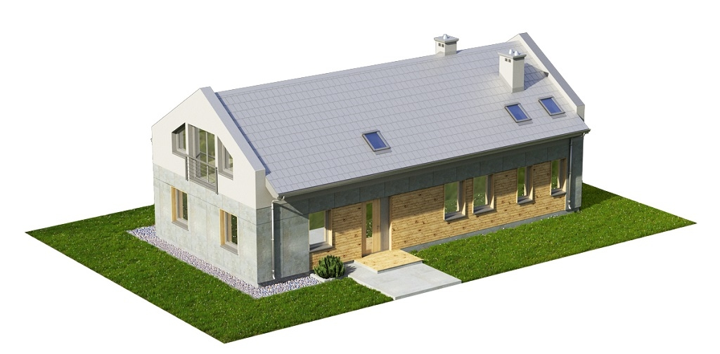 Projekt domu DM-6731 - model