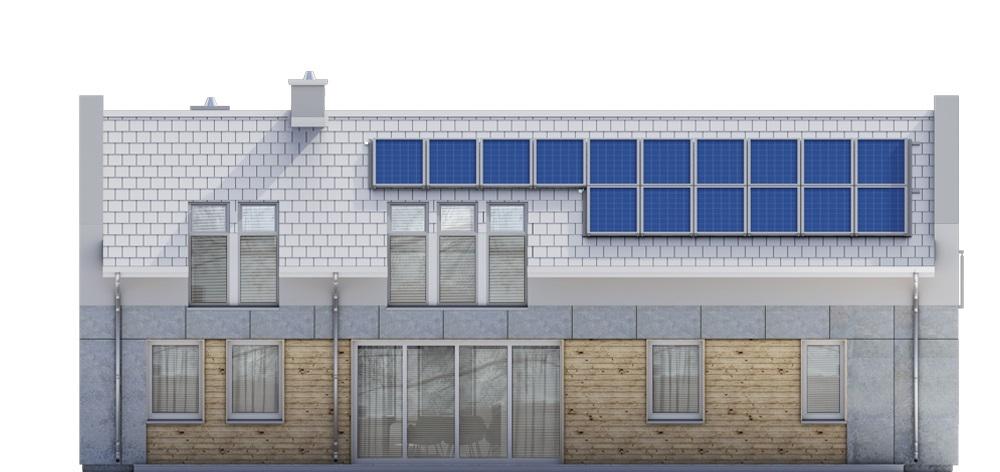Projekt domu DM-6731 - elewacja