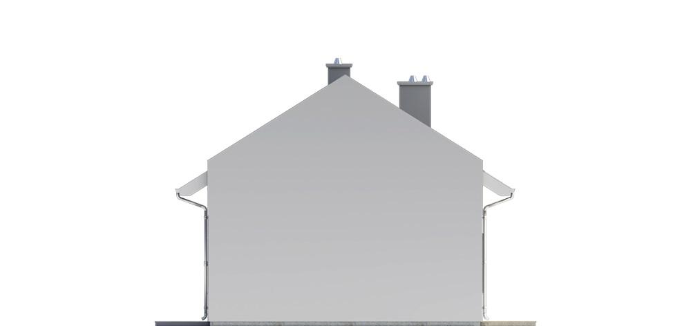 Projekt domu L-6731 - elewacja