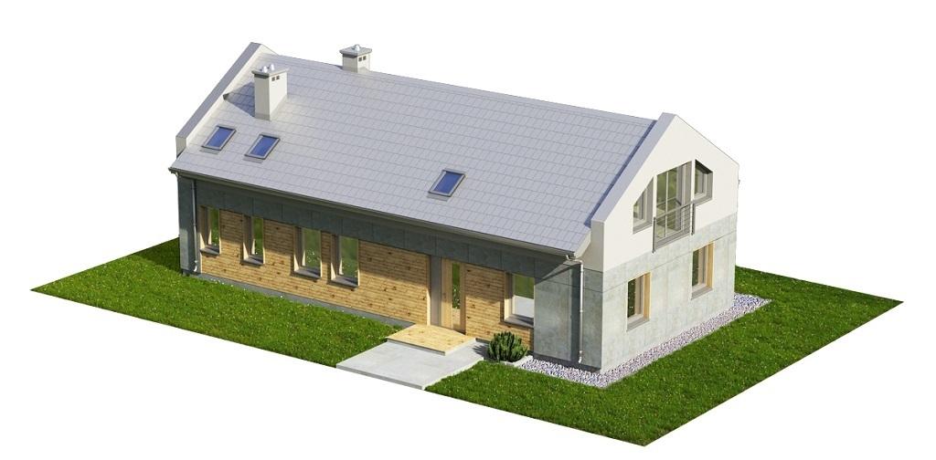 Projekt domu L-6731 - model