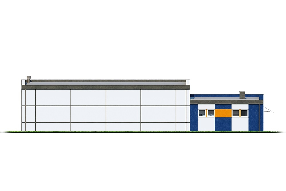 Projekt K-122 - elewacja
