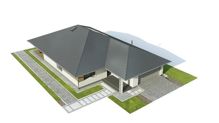 Projekt domu DM-6604 B - model