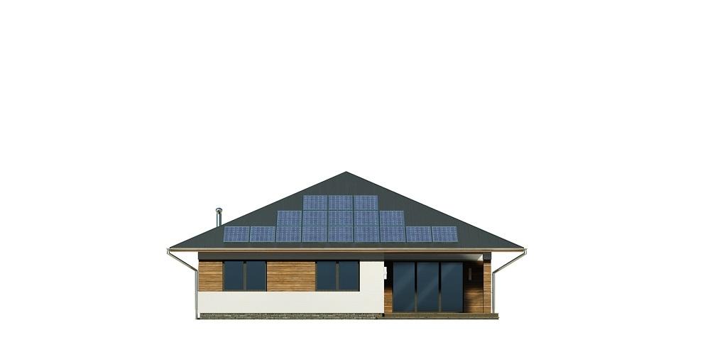 Projekt domu DM-6604 B - elewacja