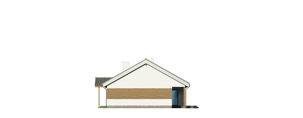 Projekt domu DM-6721 - elewacja