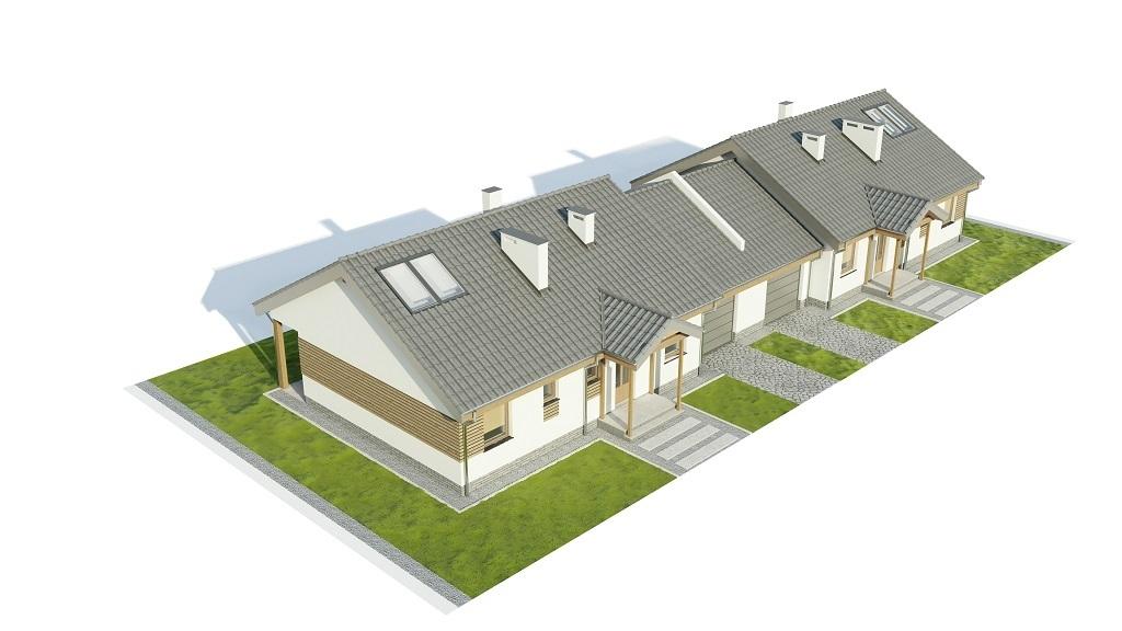 Projekt domu DM-6721 - model