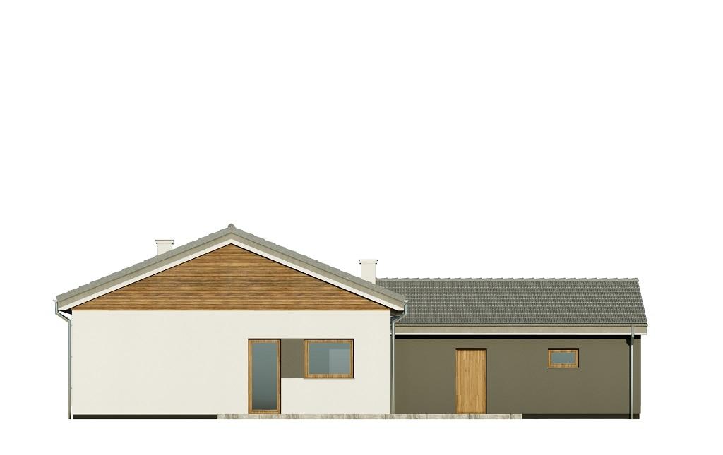 Projekt domu DM-6732 - elewacja