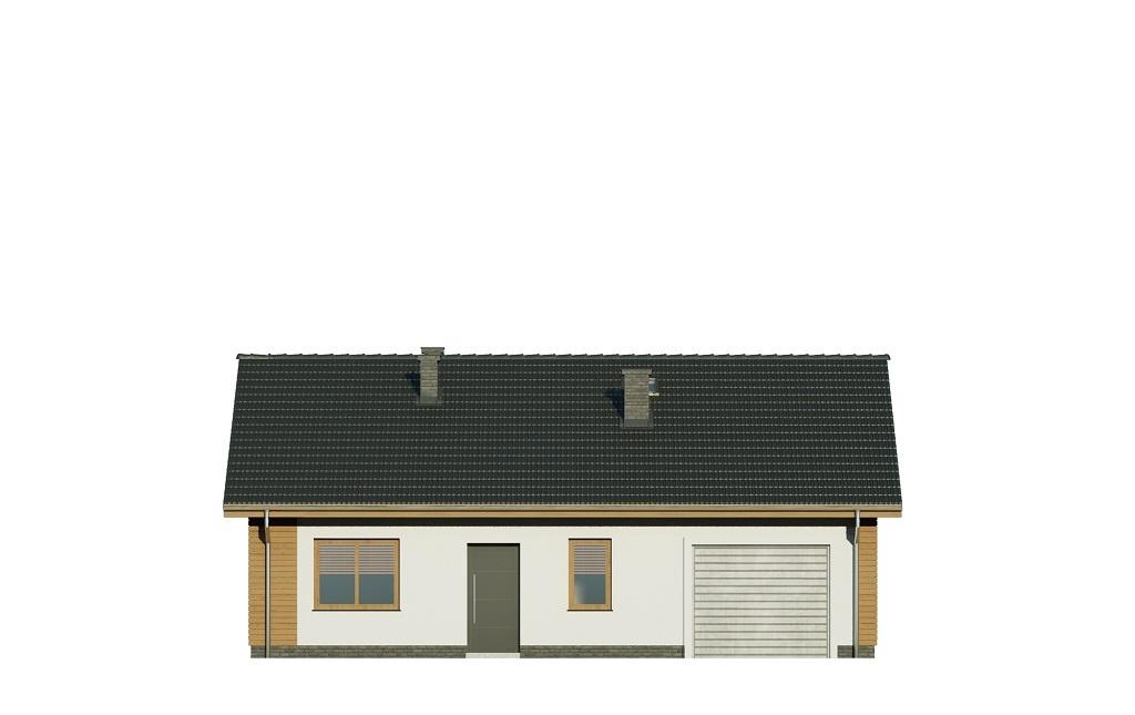 Projekt domu DM-6733 - elewacja