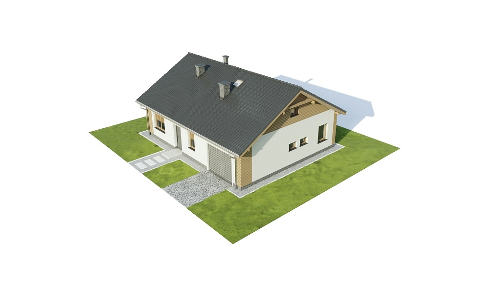 Projekt domu DM-6733 - model