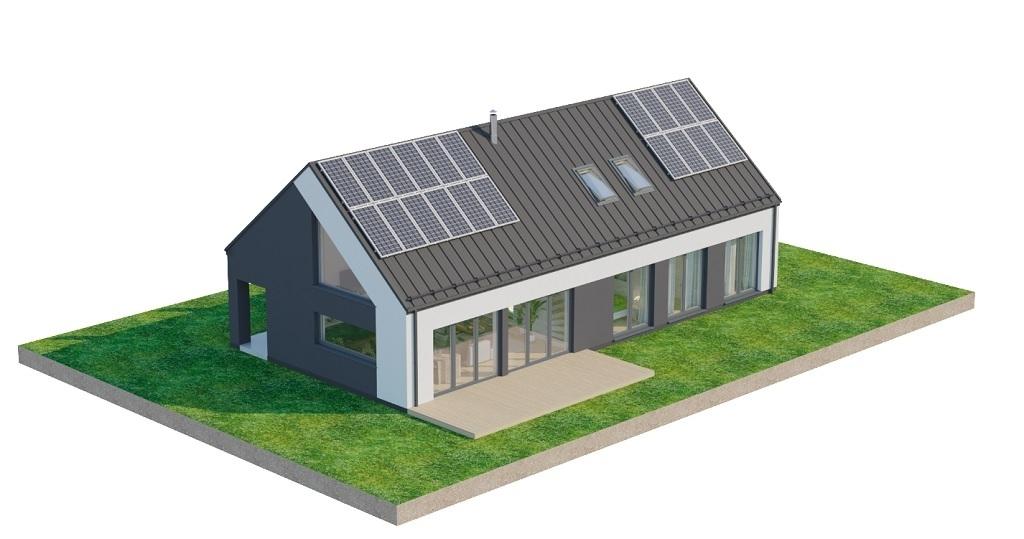 Projekt domu L-6705 - model
