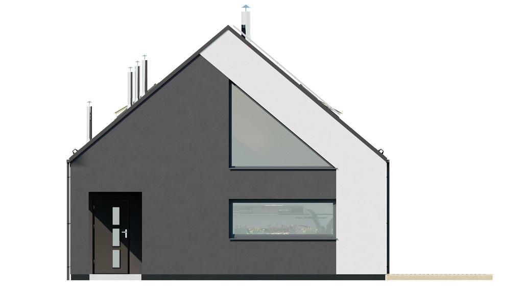 Projekt domu L-6705 - elewacja