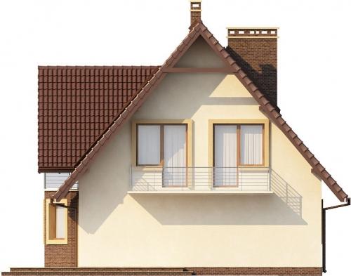 Projekt domu DM-6271 - elewacja