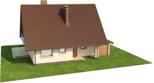 Projekt domu DM-6271 - model