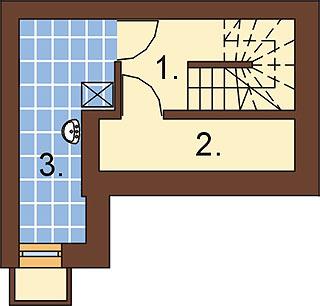 Projekt domu DM-6271 - rzut