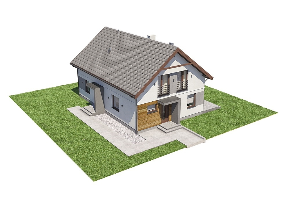 Projekt domu L-6713 - model