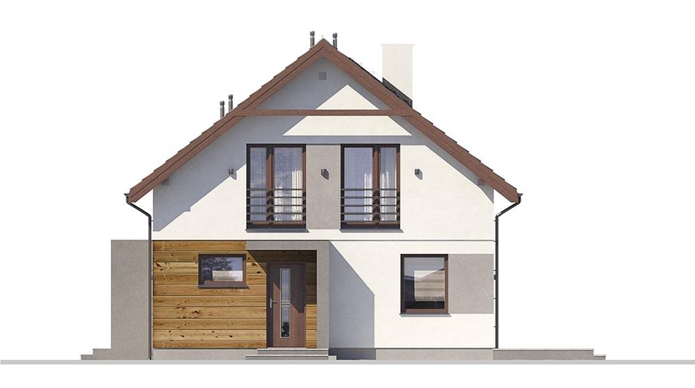 Projekt domu L-6713 - elewacja
