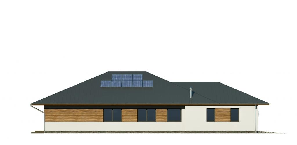 Projekt domu L-6604 B - elewacja