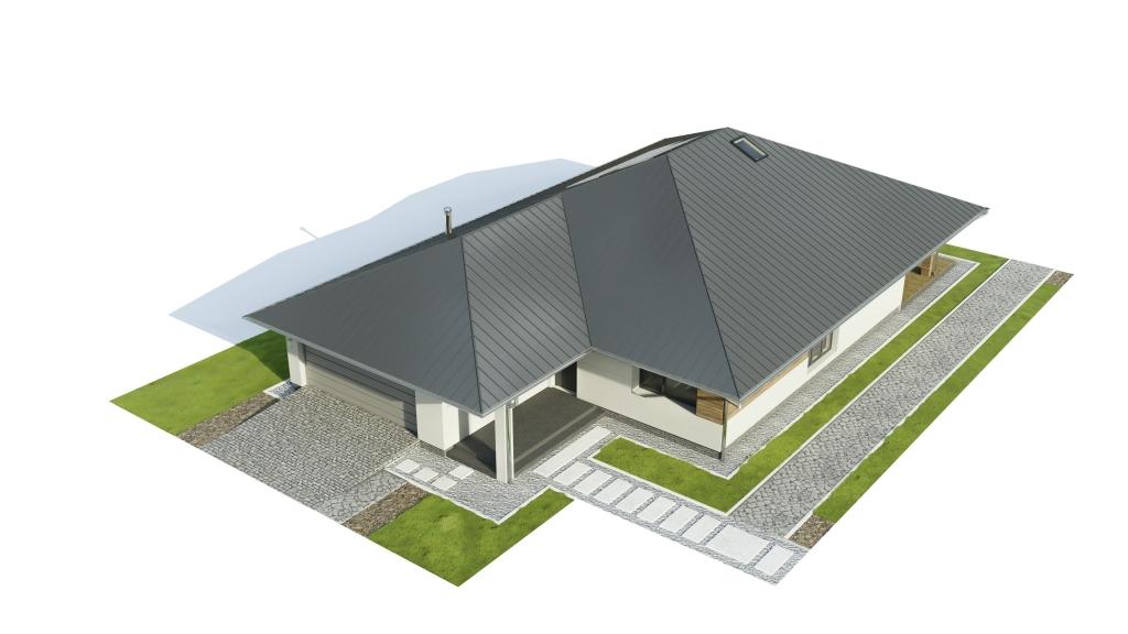 Projekt domu L-6604 B - model