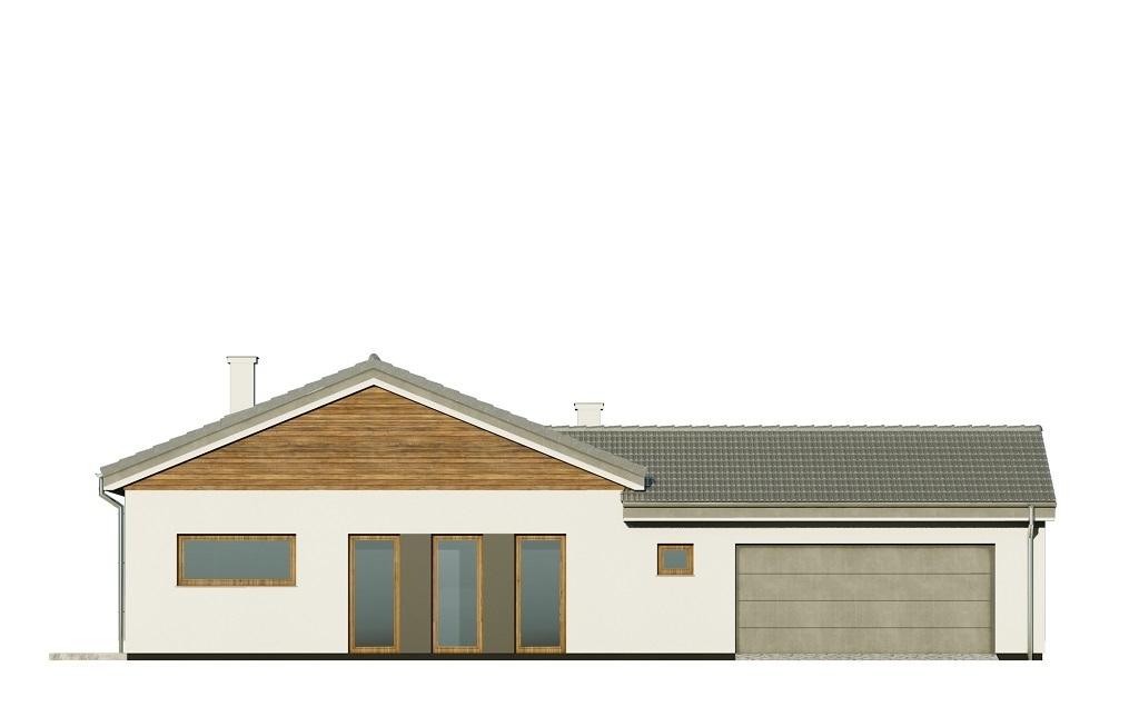 Projekt domu L-6732 - elewacja