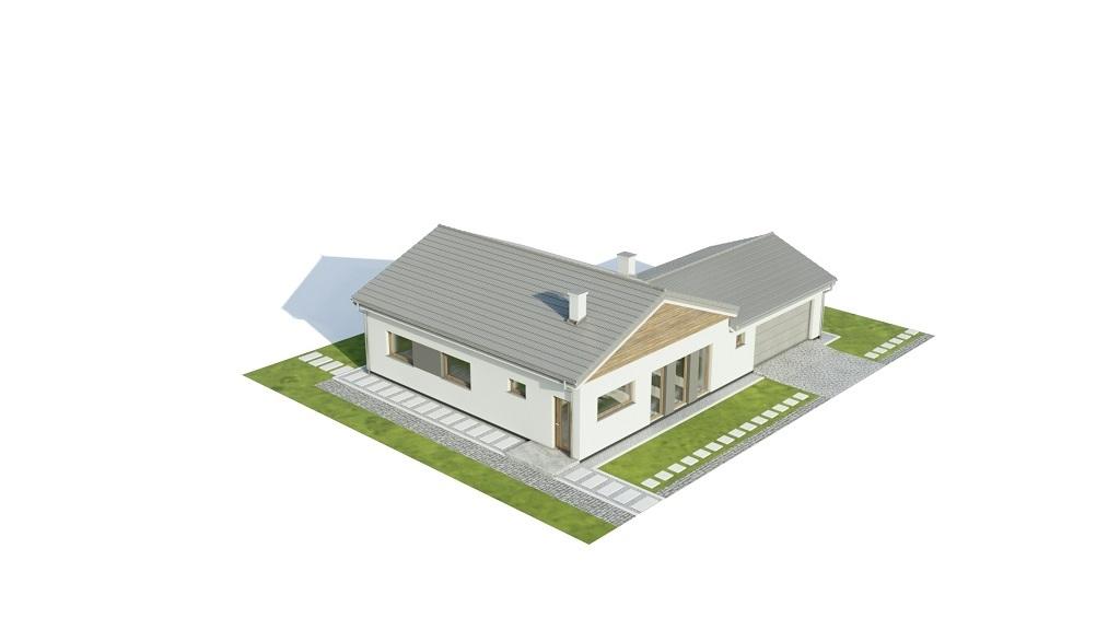 Projekt domu L-6732 - model