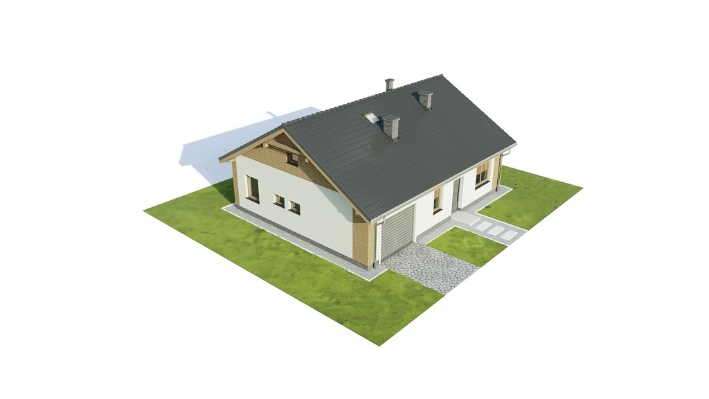 Projekt domu L-6733 - model