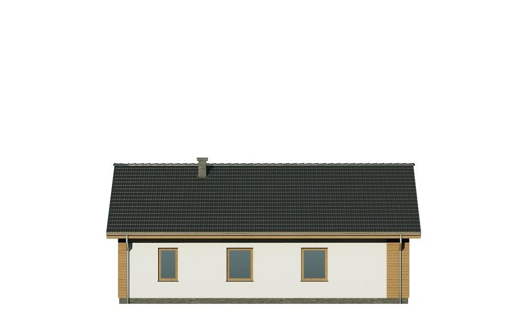 Projekt domu L-6733 - elewacja