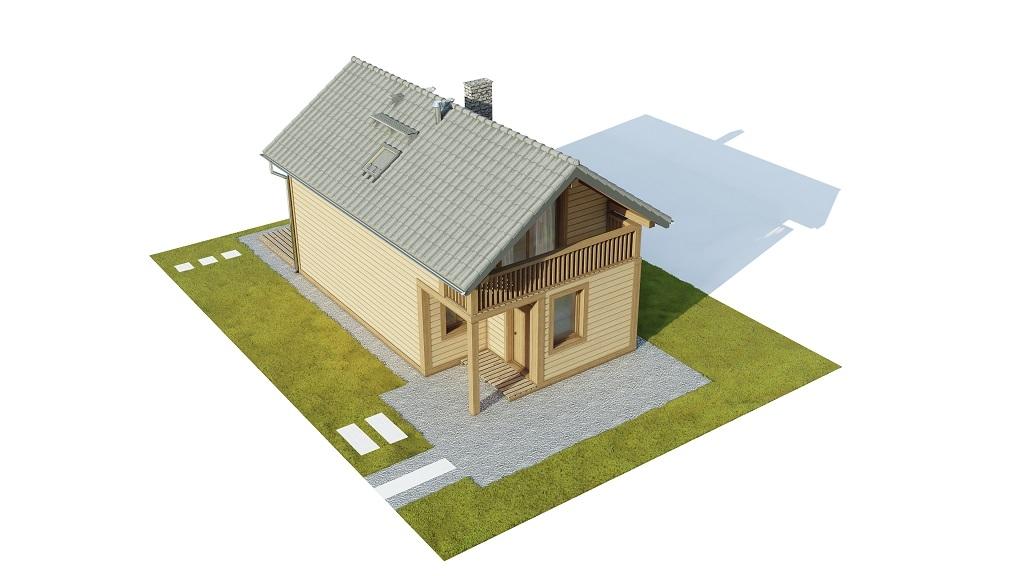 Projekt domu DM-6736 - model