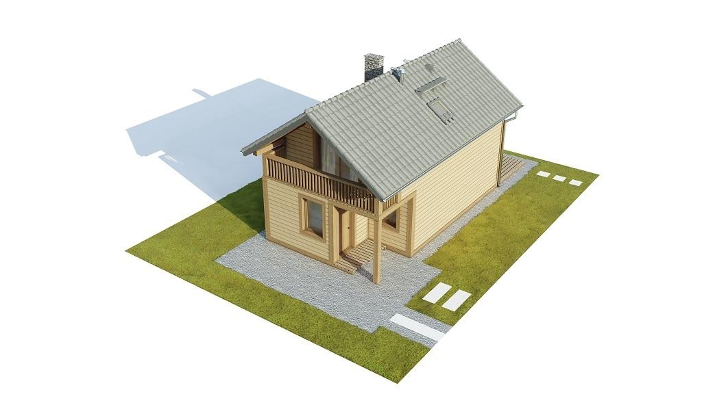 Projekt domu L-6736 - model